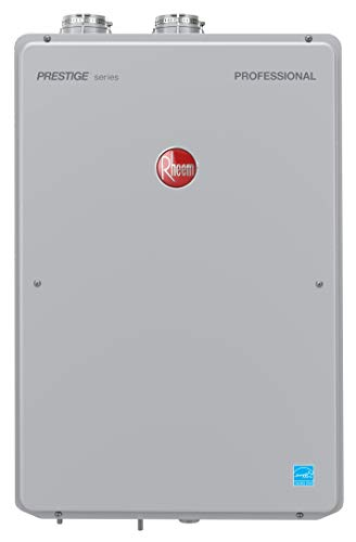 Rheem RTGH-95DVLP-2 Tankless Water Heater, Grey