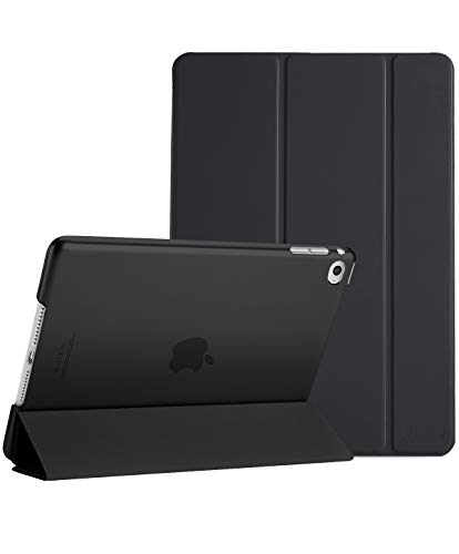 ProCase Custodia per iPad Air 2, Ultra Sottile e Leggero Custodia Supporto con Retro Semi-Trasparente Copertura Intelligente per Apple iPad Air 2 (A1566 A1567) –Nero