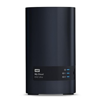 WD My Cloud EX2 Ultra - NAS 2 baies - 16To
