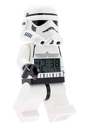 Despertador con luz infantil con figurita de la tropa de asalto de LEGO Star Wars 9002137