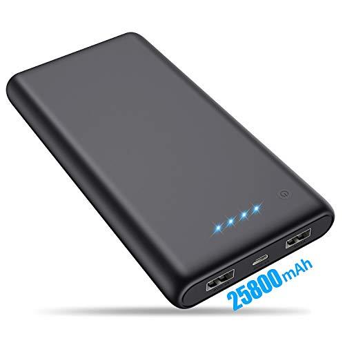 VOOE Batería Externa 25800mAh [Versión Mejorada] Power Bank Ultra...