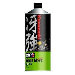 カワサキ エルフ VentVert/ヴァンヴェール 冴強 10W-50 1L J0ELF-K001-S