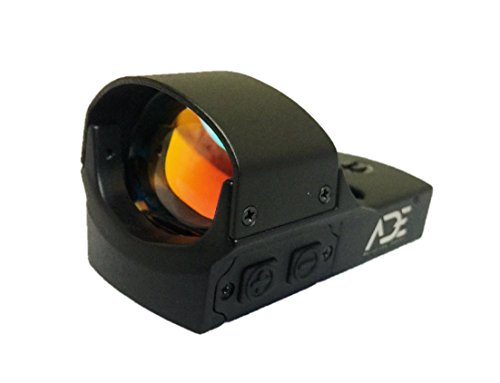 Ade Advanced Optics RD3-011A Avenger Red Dot Sight with Individual Brightness Increase and Decrease Buttons
