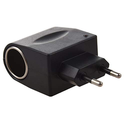 Adattatore Spina Presa muro Accendisigari charger Trasformatore Auto 220 volt to 12 volt 500mah 6 watt