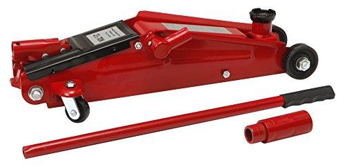 Cartrend 10024 hydraulischer Wagenheber, Rangierwagenheber für SUVs und Geländewagen mit Quicklift-Funktion, 2,5 Tonnen