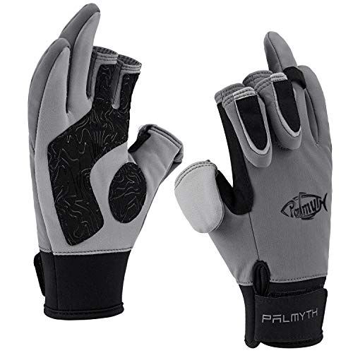 Palmyth Flexible Fishing Gloves Warm for Men and Women Cold Weather Insulated Water Repellent Great...
