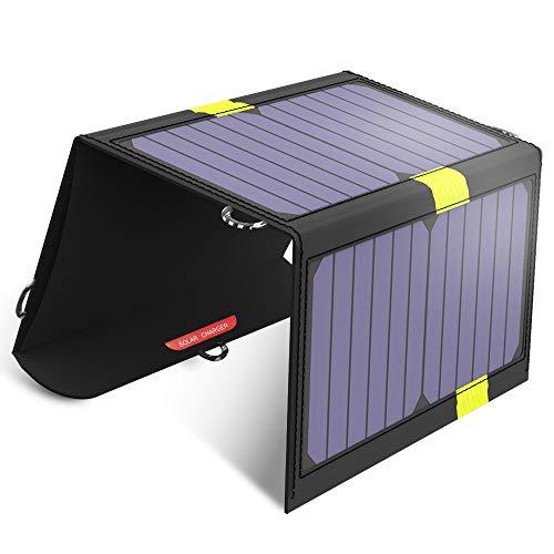 X-DRAGON Chargeur Panneau Solaire 20W Haute efficacité SunPower Chargeur...