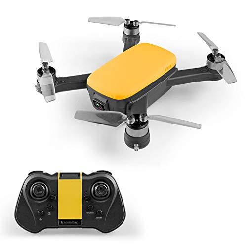 ETbotu Droni telecomandati, Drone 913A GPS RC senza spazzole con elica pieghevole 5G Wifi FPV 1080P HD Telecamera GPS Quadcopter 3 batterie gialle