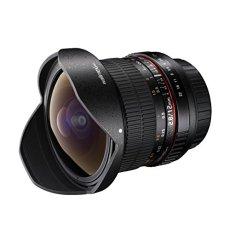 Walimex Pro 12 mm f/2.8 Fish-Eye - Objetivo para cámara Nikon (distancia focal fija 12 mm, apertura f/2.8-22) negro