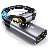 JSAUX Mini DisplayPort HDMI Adaptateur Mini DP/Thunderbolt vers HDMI avec...