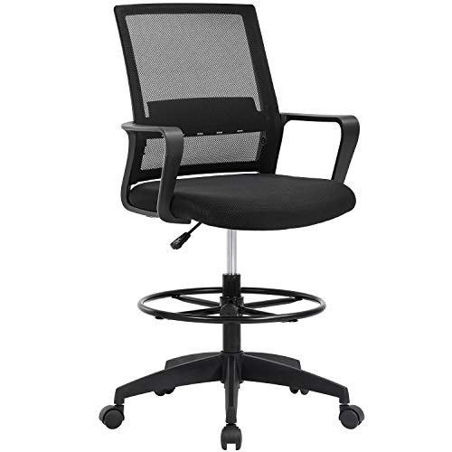 Drafting Chair Tall Office Chair Adjustable Height...