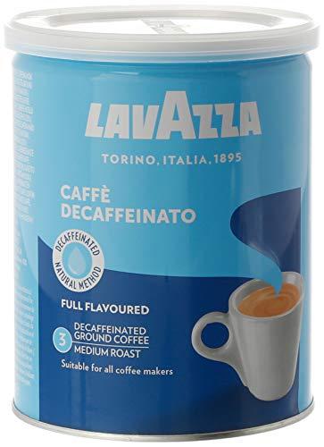Café Molido Descafeinado LAVAZZA, máximo sabor