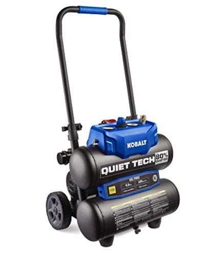 Kobalt Quiet Tech Electric Twin Stack Quiet Air Compressor