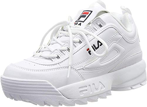 FILA Disruptor, Zapatillas para Mujer, White, 38 EU