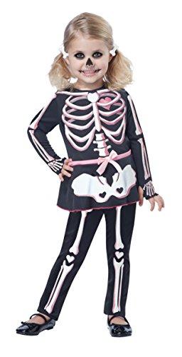 California Costumes Itty Bitty Bones Toddler Costume, Size 4-6