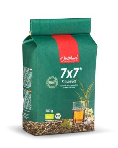 Jetzt NEU: Jentschura 7x7 KräuterTee 500 g in Bio-Qualität (2 x WurzelKraft fruchtig/würzig à 10 g gratis)