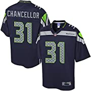 Engineered and constructed to replicate Kam Chancellor's game day Pro-Cut jersey. Sizing Tip: Product runs true to size. For a looser fit, we recommend ordering one size larger than you normally wear. Printed Seattle Seahawks wordmarks (where applica...