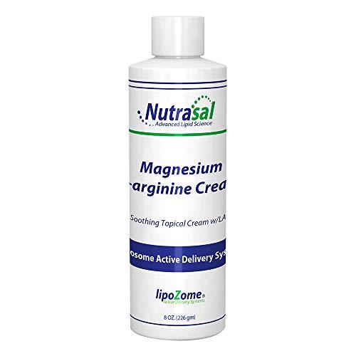 Nutrasal Magnesium L-Arginine Cream - 8oz