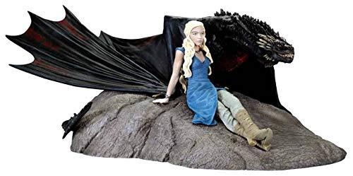 Dark Horse - Estatua de resina Game of Thrones Daenerys Targaryen y Drogon (28574)