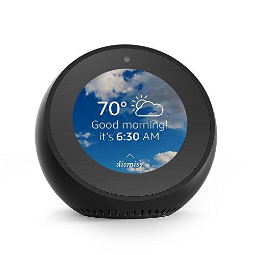 Product Image 1: Echo Spot - Smart Alarm Clock with Alexa - Black
