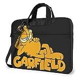Garfield Shoulder Messenger Bag Case Funda para maletín para computadora portátil de 15.6 ″ Funda para computadora portátil