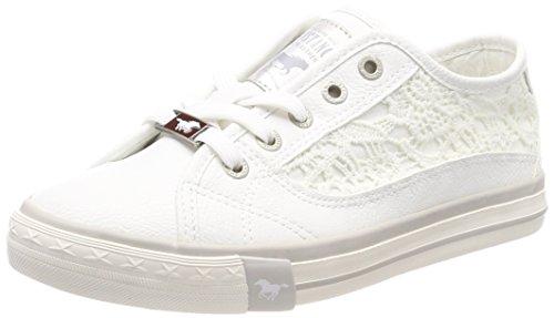 Mustang Damen 1146-303-1 Sneaker, Weiß (Weiß 1), 40 EU