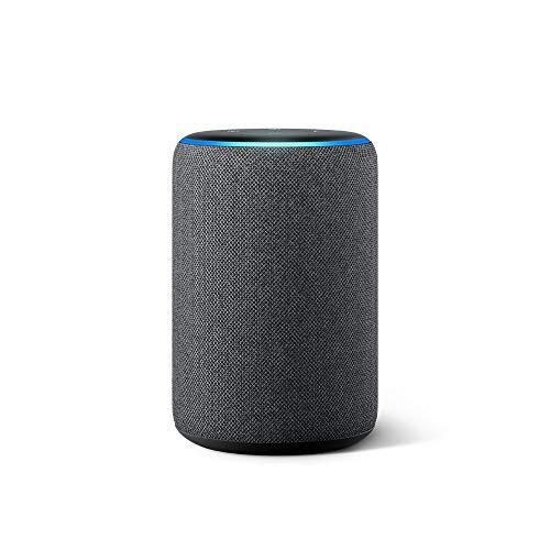 Nuevo Echo (3ra generación) - Bocina inteligente con Alexa - Negro