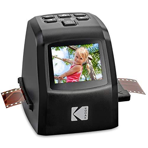 KODAK Mini digitaler Film- und Diascanner – konvertiert Filmnegative und Dias von 35 mm, 126, 110, Super-8 und 8 mm in JPEG-Bilder mit 22 Megapixeln – 3,5 Zoll-LCD-Anzeige inkl.