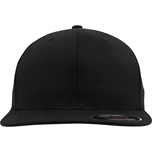 Flexfit Flexfit Flat Visor black L/XL, Cappello Unisex-Adult, Nero (black), L/XL