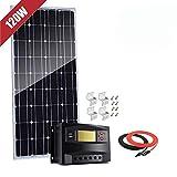 100 watts 100W 12 Volts Panneau solaire monocristallin Kit pour camping car...