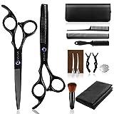 Ciseaux Coiffure Professionnel, Sunandy kit ciseaux coiffure 14 PCS, Ciseaux...