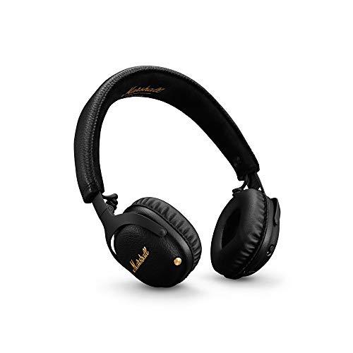 Marshall Mid A.N.C. Auriculares Bluetooth con Active Cancelación de Ruido - Negro
