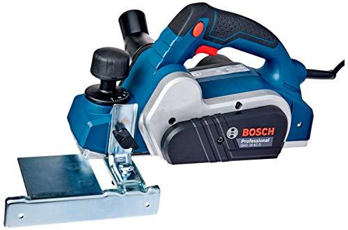 Plaina GHO 16-82 D 220V, Bosch 06015A40E0-000, Azul