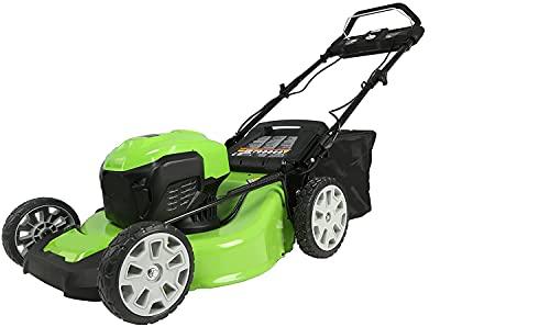 4.0Ah 16' Lawn Mower w/Mulching, Corded Electric Lawn Mower,...