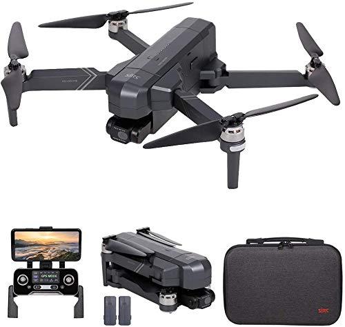 Drone GPS SJRC F11 4K PRO, Drone FPV WiFi 5G con videocamera HD 4K, Gimbal a 2 assi e motore Brushless, Quadricottero RC pieghevole (2 Batteria)
