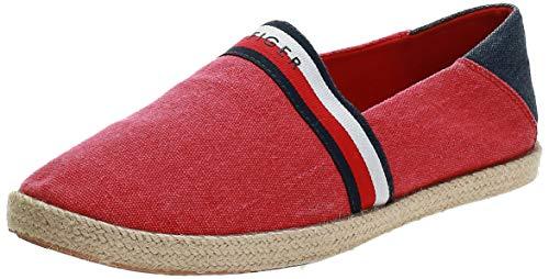 Tommy Hilfiger Hilfiger Summer Slipon, Zapatillas de Estar por casa para Hombre, Rojo (RWB 020), 40 EU
