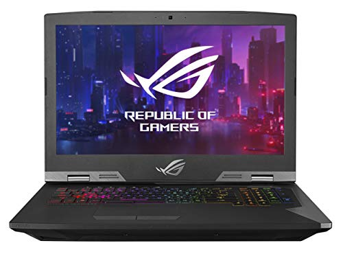 "ASUS ROG G703 17.3"" FHD 144Hz Gaming Laptop RTX 2080 8GB Graphics (Core i9-9980HK 9th Gen/32GB RAM/1TB SSHD + 3X 512GB PCIe SSD/Windows 10 Professional/Aluminum/4.70 Kg), G703GXR-EV078R 1"
