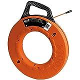 Klein Tools 56059 Fiberglass Fish Tape, 200-Foot Wall Snake is...
