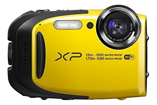FUJIFILM コンパクトデジタルカメラ XP80 イエロー XP80Y