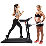 OUTDOOR DIAMOND 360ATM 50'' Electric Folding Treadmill Smart Running Machine LCD Display Hi-Fi Audio 2.0 HP Power Cup Holder Easy Assembly Safe Key W/Massager for Home Office Cardio Fitness