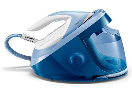 Philips Ferro da stiro GC8940/20 senza bruciature n necessit di effettuare impostazioni della temperatura, auto-spegnimento, ultraleggero, Steamglide Advanced, 7,5 bar, colpo di vapore 470 g, blu