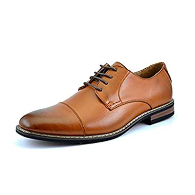 "Designed in USA Wooden Heel height: 1"" (approx) Premium Faux Leather Lining, Latex Cushioned Footbed. Lace-up construction,Classic Brogue Wing Tip Design. Flexible and Comfort oxfords with ornamental perforated patterns."