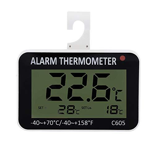 Termometro del frigorifero, termometro digitale impermeabile del congelatore del termometro del...