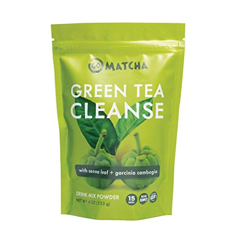 360 Nutrition Green Tea Detox Cleanse | 15 Servings | Weight Loss, Senna Leaf and Garcinia Cambogia Powder 1