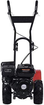 vidaXL Cultivateur à Essence Motoculteur Motobineuse Electrique Machine à Pelouse Jardin Extérieur Parterre de Fleurs 6,5 ch 196 cc