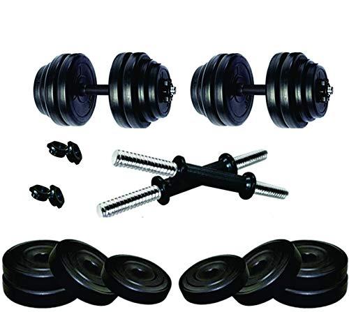 FBX Dumbbells Kit 20kg Weight Plates & Dumbbell Rods