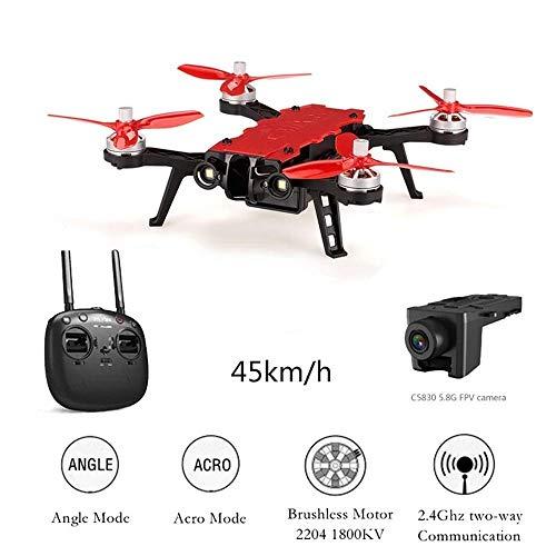 Drone RC con Fotocamera in Tempo Reale FPV HD 5.8G Quadcopter modalit di Attesa in altitudine...