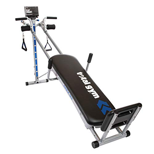 Total Gym APEX G3 Versatile Indoor Home Workout Total Body Strength Training Fitness Equipment with 8 Levels of...