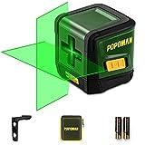 Niveau Laser Vert, POPOMAN 30M Ligne Laser Autonivelant pour Finition...