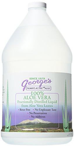 George's Aloe Vera Liquid Supplement, 128 oz